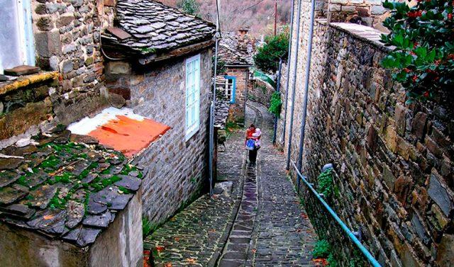 The stone built villages in Zagori