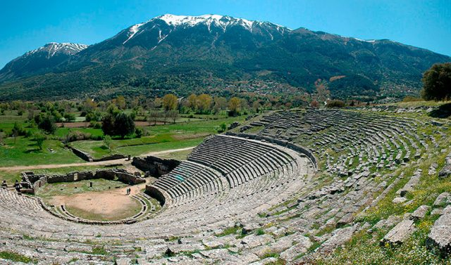 The ancient theatre of Dodoni