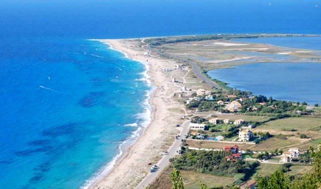 St John's Beach - The Carribean Blue in Greece!
