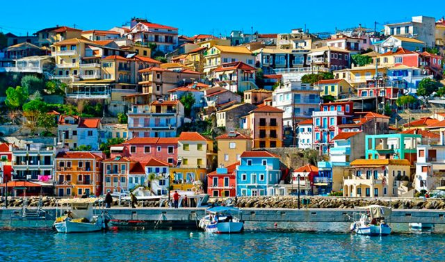 The pictoresque port of Parga