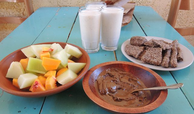 A healthy breakfast
